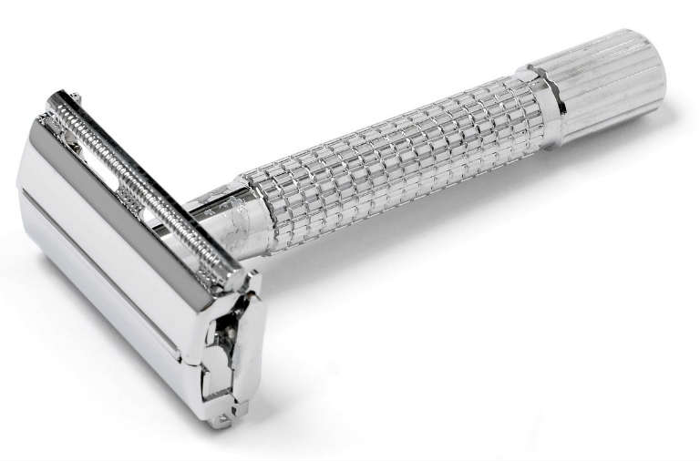 Krom safety razor