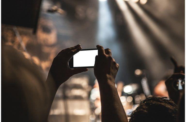 Medina koncert smartphone
