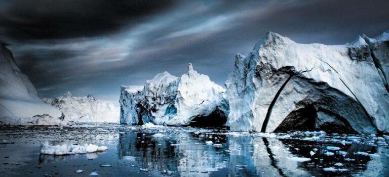 Mørk himmel over Nordpolen